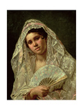 Spanish Dancer Giclee Print by Mary Cassatt