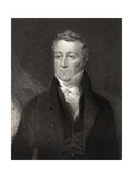 William Huskisson, Engraved by John Cochran (Fl.1821-65), from 'National Portrait Gallery, Volume… Giclee Print by John Graham