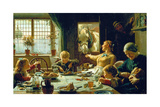 One of the Family, 1880 Gicléedruk van Frederick George Cotman