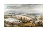 The Battle of Preston and Walton, August 17th, 1648, 1877 Giclee Print by Charles Cattermole