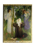 The Cloister or the World, 1896 Giclee Print by Arthur Hacker