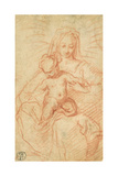 Madonna and Child Giclee Print by Alessandro di Agostino Casolani