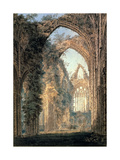 Tintern Abbey Giclee Print by Thomas Girtin