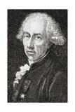 Francois Alexandre Frederic, Duc De La Rouchefoucauld-Liancourt, Engraved by Pannemaker-Ligny,… Giclee Print by H. de la Charlerie