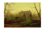 Autumn Morning Giclee Print by John Atkinson Grimshaw