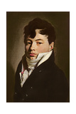 Portrait of a Dandy with a White Cravat, C.1815 Giclee Print by Louis Leopold Boilly
