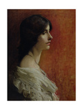 Portrait of a Young Lady, 1897 Giclee Print by James Jebusa Shannon