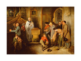 The Christening Giclee Print by Edward Bird