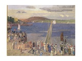 Padstow Regatta Giclee Print by Alfred Walter Bayes