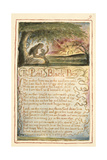 The Little Black Boy: Plate 9 from 'Songs of Innocence and of Experience' C.1815-26 Giclee Print by William Blake