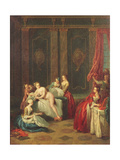 Bathroom Interior Giclee Print by Jean-Baptiste Joseph Pater