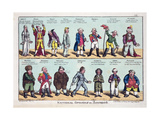 National Opinions on Bonaparte, 1808 Giclee Print by George Moutard Woodward