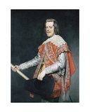 Philip IV, King of Spain Giclee Print by Diego Rodriguez de Silva Velazquez