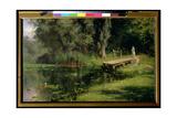 The Overgrown Pond, 1880 Giclee Print by Vasilij Dmitrievich Polenov