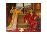 The Gilded Cage Giclee Print by Evelyn De Morgan