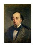 Benjamin Disraeli, Earl of Beaconsfield, 1877 Giclee Print by Theodore Blake Wirgman