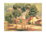 The Sunny Road, C.1895 Giclee Print by Pierre-Auguste Renoir