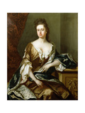 Portrait of Queen Anne (1665-1714) Giclee Print by Michael Dahl