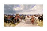 Barnet Fair Giclee Print by John Frederick Herring I