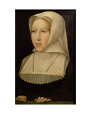 Portrait of Margaret of Austria Giclee Print by Bernard van Orley