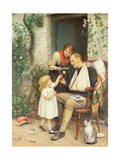 Home from the War Giclee Print by Joseph Clark