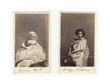 Epuni Hutt and Eliza Porirua, C.1865 Giclee Print by James Wrigglesworth