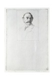 Portrait of Thomas Hardy (1840-1928) 1893 Giclee Print by William Strang