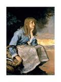 Caller Herrin' Impression giclée par John Everett Millais