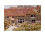 A Surrey Cottage Giclee Print by Helen Allingham