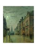 Park Row, Leeds, 1882 Giclee Print by John Atkinson Grimshaw