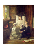 The Children of Charles I Giclee Print by Margaret Isabel Dicksee