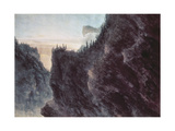 Entrance to the Valley of the Grande Chartreuse, 18th Century Giclee Print by John Robert Cozens