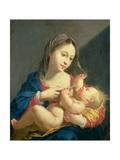 Madonna mit dem Kinde Giclée-Druck von Jacob Ferdinand Voet