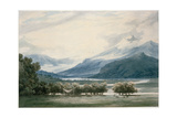 Bessanone, South Tyrol Giclee Print by John Robert Cozens