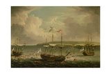 Taking of Belleisle, 1761 Giclee Print by Dominic Serres