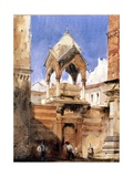 The Castelbarco Tomb, Verona, 1827 Giclee Print by Richard Parkes Bonington