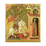 St. George and the Dragon, Ukraine, Late 16th Century Giclee Print