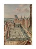 A Garden, 1660 Giclee Print by Johann Jakob Walther
