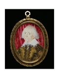 Portrait Miniature of an Unknown Man, 1640 Giclee Print by Lawrence Hilliard