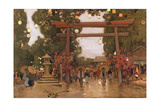 Spring in Japan Giclee Print by Sir Alfred East