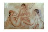 Bathers, C.1887 Giclee Print by Pierre-Auguste Renoir