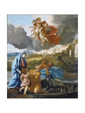 The Return of the Holy Family from Egypt Giclee Print by Nicolas Poussin