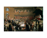 The Trial of the Seven Bishops in the House of Commons During the Reign of James II Giclee Print by John Rogers Herbert