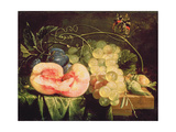 Still Life with Fruit, 17th Century Giclee Print by Cornelis De Heem