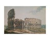 The Colosseum, Rome Giclee Print by Abraham Louis Rudolph Ducros