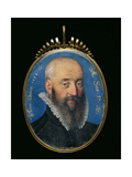 Portrait Miniature of an Unknown Man Aged 57, 1588 Giclee Print by Isaac Oliver