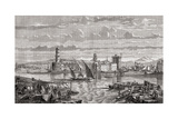 Marseilles During the 18th Century, Engraved by Pibaraud after Le Breton, from 'Histoire De La… Giclee Print