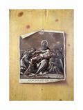 Trompe L'Oeil with Pieta Giclee Print by Johann Minck