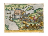 The Siege of Louvain and the Heroism of Harman Reuter Against the Spanish Forces, 1571 Giclee Print by Zacharias Dolendo