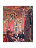 The Cafe Royal, 1912 Giclee Print by Harold Gilman